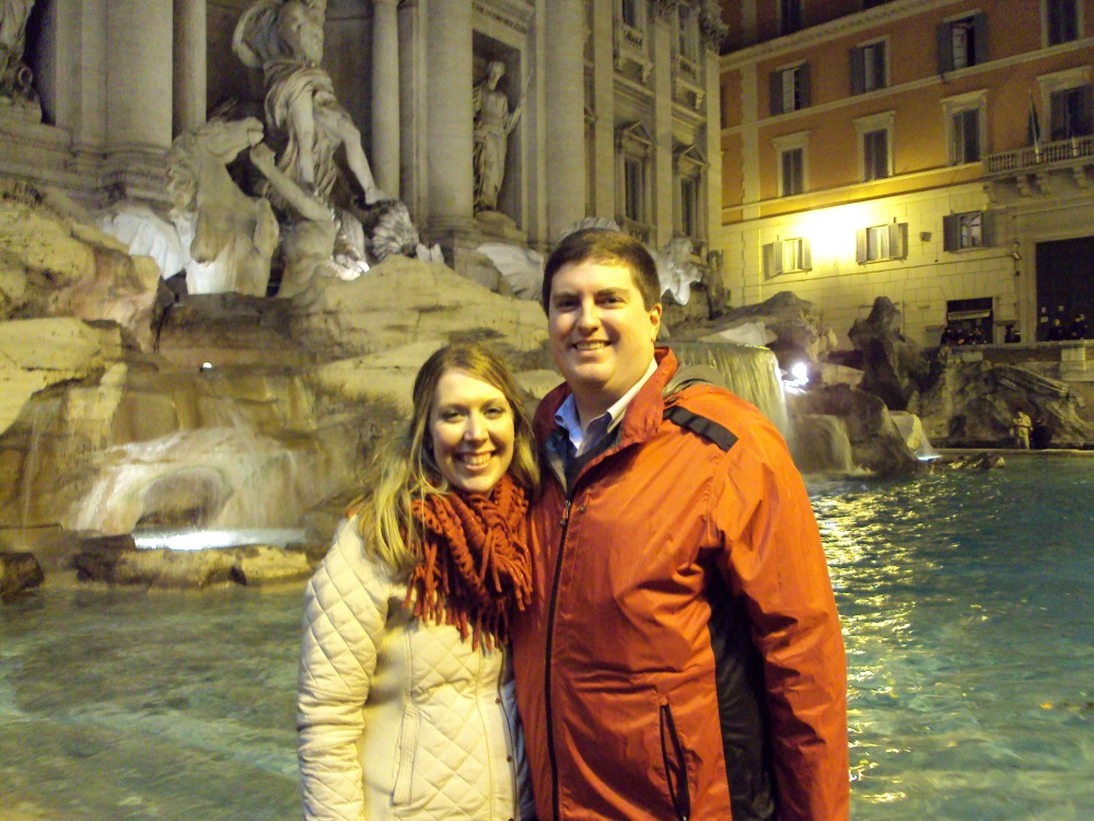 Christmas Day - Trevi Fountain
